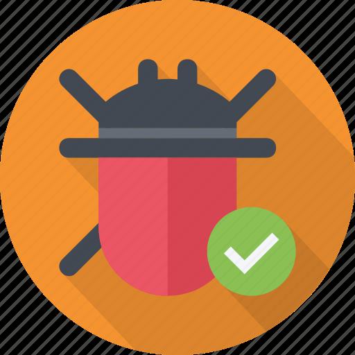 bug, code, error, fix, tester, testing, virus icon