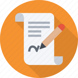agreement, contract, deal, document, lawyer, signature icon