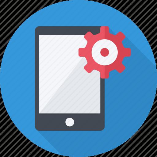 menu, mobile, repair, screen, setting, smartphone icon