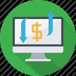 advertising, make money, money, ppc, revenue, traffic icon