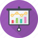 analysis, data, graph, presentation, report, research, revenue, sales icon