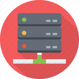 center, cloud, data, database, hosting, rack, server, storage icon