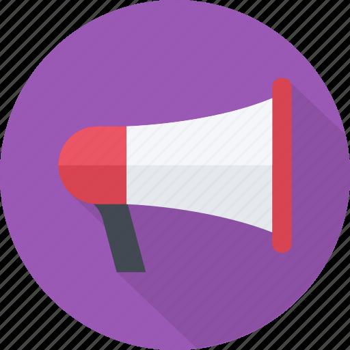 conference, event, loud, megaphone, presentation, sound, speaker icon