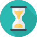 clock, hourglass, loading, sandtime, schedule, time icon