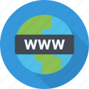 dns, domain, registrar, url, website, www icon