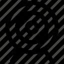 bullseye, circus, dartboard, darts, goal, target icon, • board icon