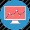 analytics, charts, graphs, infographic, presentation, report, statistics icon