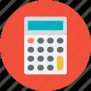 business, calc, calculating, calculator, device, finance, mathematics icon
