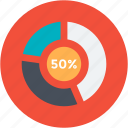 analysis, bar, diagram, graph, growth, pie, report icon