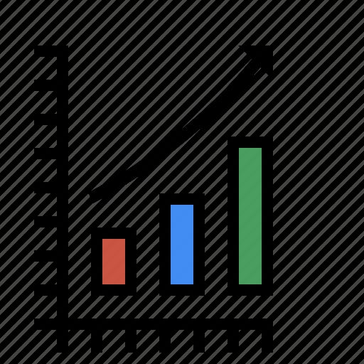 analytics, chart, marketing, metrics, performance, sales, search performance, seo icon
