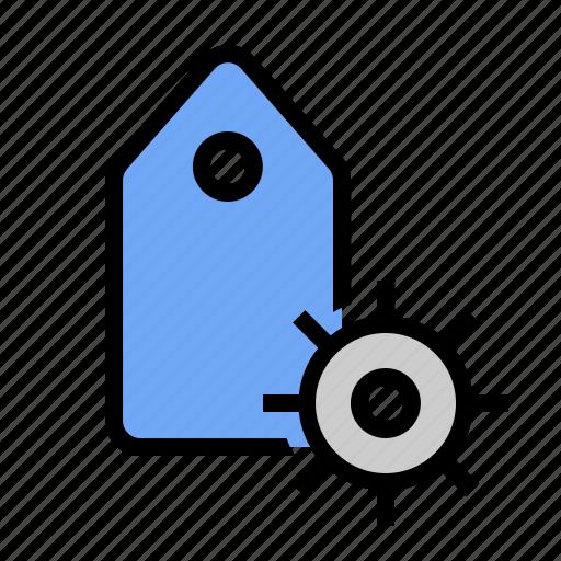 keyword options, keyword settings, marketing, seo, tag options, tag settings icon