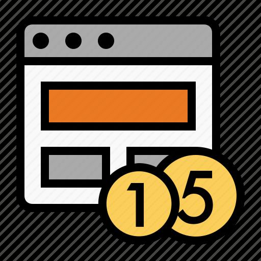 marketing, page monetization, page value, seo, site monetization icon