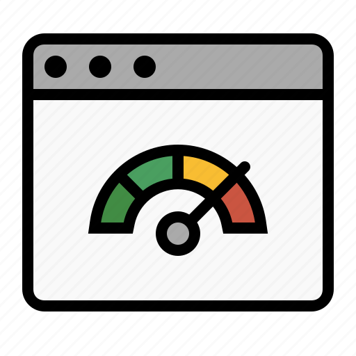 marketing, pagespeed, performance, seo, speed test icon