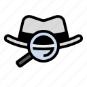 hacker, marketing, search, seo, white hat, white hat seo icon