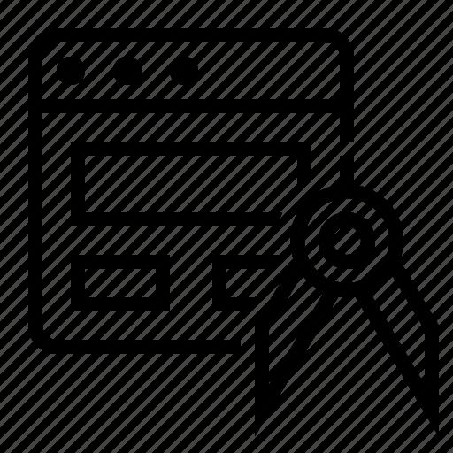 marketing, optimization, page, page optimization, seo, site optimization icon