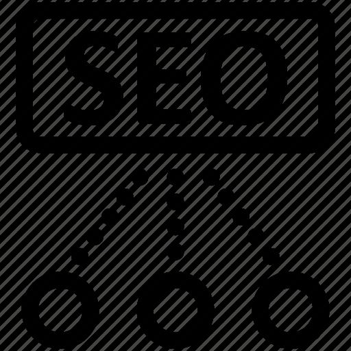 marketing, optimization, seo icon