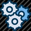 configuration, gear, setting icon