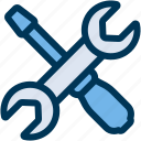 maintenance, preferences, settings icon
