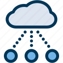 cloud, computing, network icon