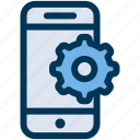 configuration, mobile, settings icon