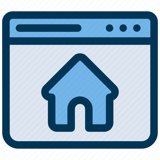 browser, homepage, web icon