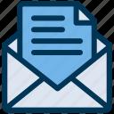 email, envelope, letter
