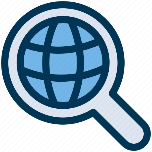 global, search, web icon
