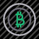 bitcoin, currency, money, saving, seo icon