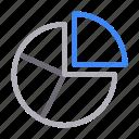 chart, diagram, graph, pie, statistics icon