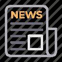 article, news, paper, press, seo icon