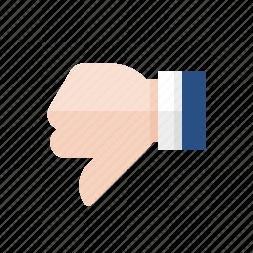 dislike, down vote, marketing, seo, thumbs down icon