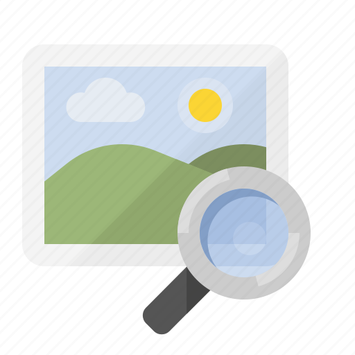 find image, image search, marketing, picture search, seo icon