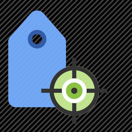 keyword, marketing, seo, target, target keywords, target tags, targeting icon