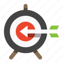 marketing, seo, target, target audience, target market, targeted search icon