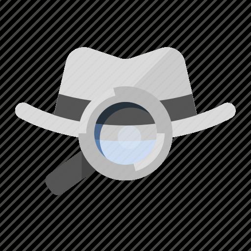 hacker, marketing, search optimization, seo, white hat seo icon