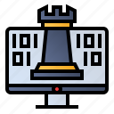 computer, digital, strategy, website icon