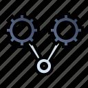 engine, optimization, seo, settings icon