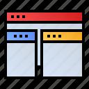 optimization, responsive, webpage, website icon
