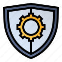 optimization, protection, security, settings icon