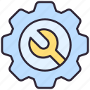 gear, setting, wrench