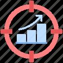 analytics, growth, target