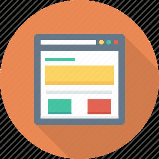 Browser, ecommerce, homepage, online, portal, shop icon - Download on Iconfinder