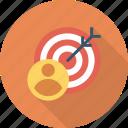 business, customer, marketing, target, user