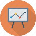 business, graph icon
