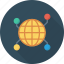earth, global, globe, international, network, share, technology icon