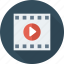 film, movie, reel, video