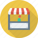 market, open, shop icon