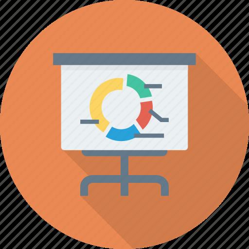 board, business, graph icon