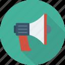 sound, announcement, megaphone, notification