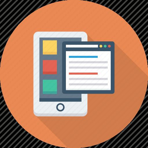 app, development, software, ui icon